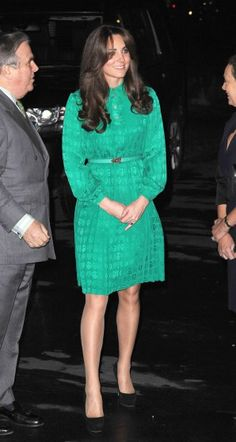 Catherine, Duchess of Cambridge attends the official opening of The Natural History Museums's Treasures Gallery at Natural History Museum on November 27, 2012 in London.