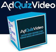 AdQuizVideo By Mario Brown - Discover The World's First Behavior Driven Marketing Engine On JVZoo Guaranteed To Double Your Conversions,Create FREE Viral Traffic & Boost Your Sales In 3 Simple Steps.