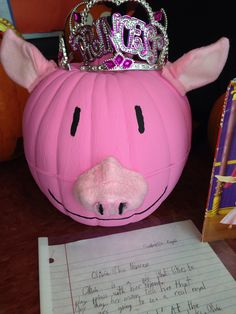 Olivia the princess pumpkin book report