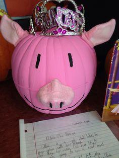 Olivia the princess pumpkin book report