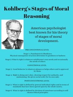 Table Kohlberg's Stages of Moral Reasoning Psychology Notes, Psychology Major, Educational Psychology, Developmental Psychology, School Psychology, Social Work License, Social Work Exam, Kohlberg Moral Development, Social Work Theories