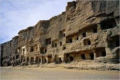Mogao Caves - Dunhuang, Gansu province, China.  Mogao Caves, Dunhuang, China. in…