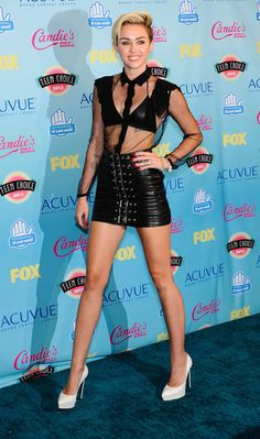 Miley Cyrus arriving at the Teen Choice Awards 2013 at Gibson Ampitheatre in Universal City, California - Aug 11, 2013 -