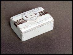 Ring Box Wedding Ring Box Rustic Ring Bearer by GregolinoWedding, €27.00