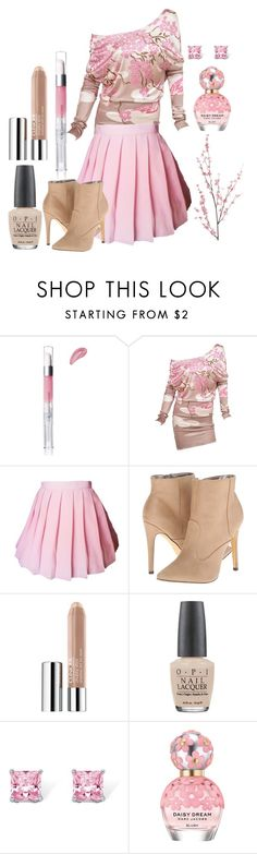 """""""On The Flight To Japan"""" by adventuretimekitty ❤ liked on Polyvore featuring e.l.f., Tom Ford, Michael Antonio, Clinique, OPI, Palm Beach Jewelry, Marc Jacobs, Pier 1 Imports, Pink and beige"""