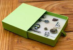 Shoebox Crafts : DIY ring box