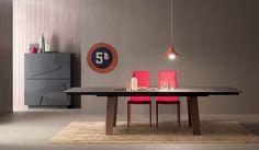 Italian design storage cupboard Smart by Compar | Grey and pink interior |
