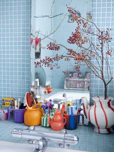 Des idées pour personnaliser sa salle de bain : En glissant une pointe d'humour et de kitsch