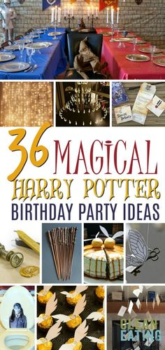 Harry Potter How to Host The Ultimate Harry Potter Birthday Party {Free} Party Planning Binder you can use every year. - Host The Ultimate Harry Potter Birthday Party {Free} Party Planning Binder you can use every year. Harry Potter Thema, Cumpleaños Harry Potter, Harry Potter Party Decorations, Birthday Decorations, Birthday Presents, Birthday Parties, Birthday Kids, 11th Birthday, Party Planning Printable
