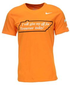 Nike Men s Tennessee Volunteers Campus Elements T-Shirt Men - Sports Fan  Shop By Lids - Macy s edcd6e89dbf6e