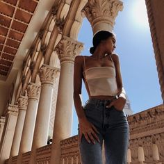 Best Aesthetic Clothes Part 14 Look Fashion, Fashion Outfits, Woman Fashion, Travel Outfits, Urban Outfits, Modest Fashion, Fashion Fashion, Retro Fashion, Winter Fashion