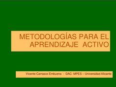 Metodologías para el Aprendizaje Activo | #Presentación #Educación