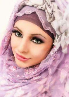 pretty colour hijab
