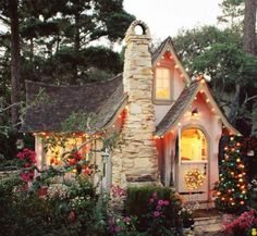 Charming little house, possibly in Carmel, California