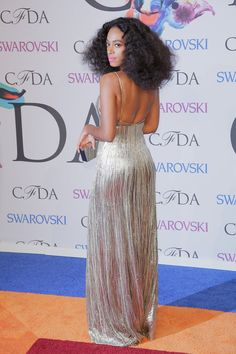 Pin for Later: Take Bold, Colorful Styling Cues From Birthday Girl Solange Knowles  At the CFDA Fashion Awards, Solange sparkled from every angle.