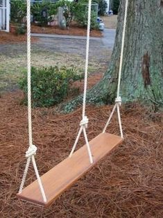 double tree swing...