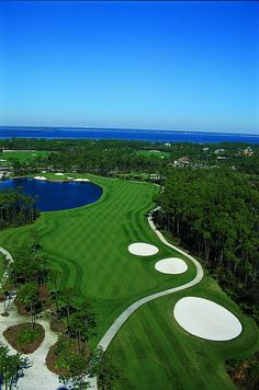 Regatta Bay Golf Club, Destin, FL. #GolfCourseOfTheDay I Rock Bottom Golf #rockbottomgolf
