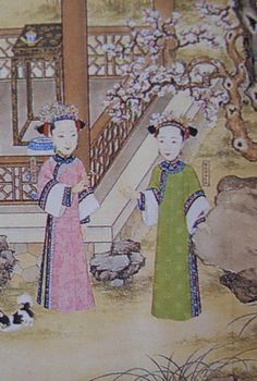 Qing_Dynasty_Princesses_Rongengulun_and_Rongangulun_of_China.JPG (575×855)