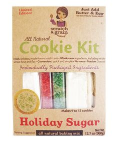 Another great find on #zulily! Holiday Sugar Cookie Kit - Set of Three #zulilyfinds