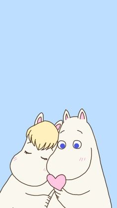 miki * web designer, IT, français, music, book Moomin Wallpaper, Iphone Wallpaper, Marimekko Wallpaper, Phone Backgrounds, Wallpaper Backgrounds, Les Moomins, Moomin Valley, Tove Jansson, Illustration