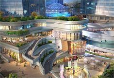 디큐브시티·웨스트밸리…개방형 쇼핑몰 '붐'
