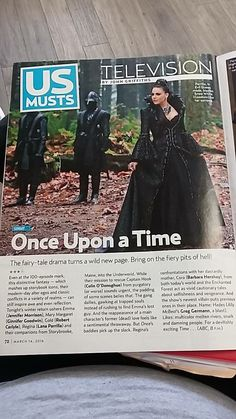 Awesome Evil Queen Regina (Lana) Once S5B E12 #SoulsofTheDeparted Once S5B Spring premiere #OnceTurns100 airs Sunday 3-6-16 awesome article in US magazine