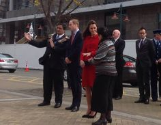 The Duke and Duchess of Cambridge have been welcomed to Christchurch by Ngai Tahu iwi (tribe) pic.twitter.com/AVJ2TvDOoL