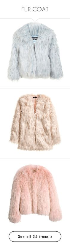 """FUR COAT"" by anabelle-grace ❤ liked on Polyvore featuring outerwear, coats, jackets, fur, blue, blue faux fur coat, cropped coat, imitation fur coats, fake fur coat and miss selfridge coats"