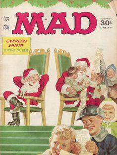 MAD Magazine Cover No. 108 Jan '67 | Flickr - Photo Sharing!
