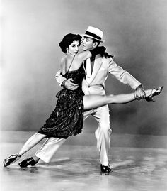 Fred Astaire and Cyd Charise - publicity shot for The Band Wagon.