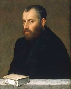 Portrait of a Man with a Book - Giovanni Battista Moroni. Oil on canvas. 71 x 56 cm. Renaissance Men, Italian Renaissance, Portrait Art, Portrait Paintings, Oil Paintings, Painted Picture Frames, Mustache Men, Renaissance Portraits, Oil Painting Pictures