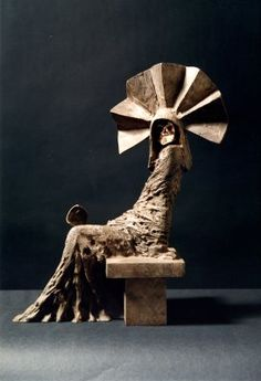 """""""Another Face Another Place"""" sculpture by Philip Jackson"""