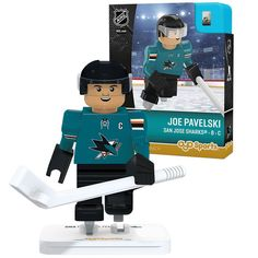 Joe Pavelski San Jose Sharks OYO Sports Player Figurine