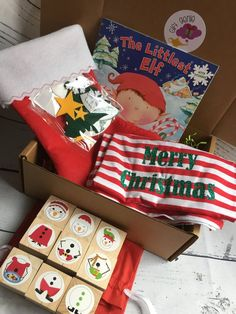 Ready to Ship, Christmas Eve Box for children, night before christmas box, preschool christmas box, christmas pajamas for children Christmas Eve Box For Kids, Night Before Christmas Box, Baby Christmas Photos, Childrens Christmas, Preschool Christmas, Toddler Christmas, Family Christmas, Christmas Themes, Christmas Gifts