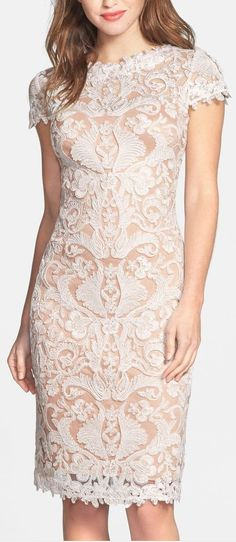 illusion lace sheath dress - sponsored Nordstrom Rack