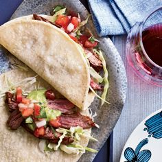 Chile-Spiced Skirt #Steak #Tacos