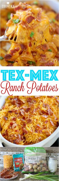 Tex Mex Ranch Potatoes recipe from The Country Cook