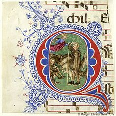 Antiphonary, MS M.701 fol. - Images from Medieval and Renaissance Manuscripts - The Morgan Library & Museum