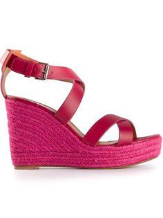 f7aa95af5f28 Designer Sandals For Women. LANVIN Wedge Sandal