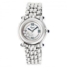 Women's Certified Pre-Owned Watches - Chopard Happy Sport quartz white womens Watch 27825023 Certified Preowned * Learn more by visiting the image link.