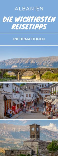 Albania travel tips - the most important information for your trip - Albania Travel Tips – Are you planning a trip to Albania? Here you get the most important tips fo - Travel Destinations, Travel Tips, Travel Ideas, Albania Travel, Reisen In Europa, Backpacking, Family Travel, Travel Inspiration, Road Trip
