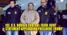 BREAKING : ICE, U.S. Border Control Issue Joint Statement Applauding Trump – TruthFeed