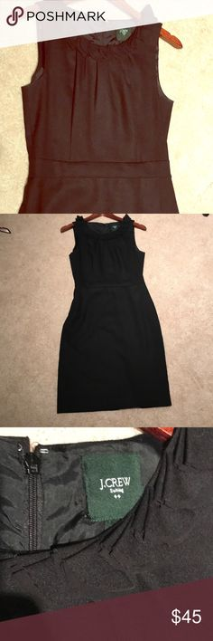 J Crew wool blend suiting sheath dress Great condition. Reposh. Worn by me once. Lined. Also selling dark teal version. J. Crew Dresses
