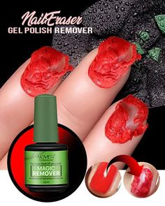It has never been this easy Gorgeous Nails, Love Nails, How To Do Nails, Pretty Nails, Hard Gel Nails, Soak Off Gel Nails, Acrylic Nail Shapes, Best Acrylic Nails, Nail Remover