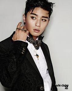 Park Seo Joon - Marie Claire Magazine December Issue '14