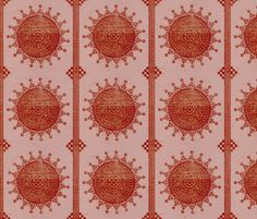 India  fabric by finandivy on Spoonflower - custom fabric