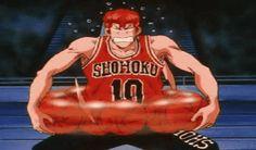 Slam Dunk - Basketball Sport anime you should watch Otaku Anime, Manga Anime, Slam Dunk Anime, Inoue Takehiko, Basketball Teams, Funny Art, Anime Shows, Aesthetic Anime, Slammed