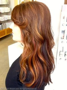 The color and highlights