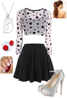 """Girl Time!!"" by shaelynn-1 on Polyvore"