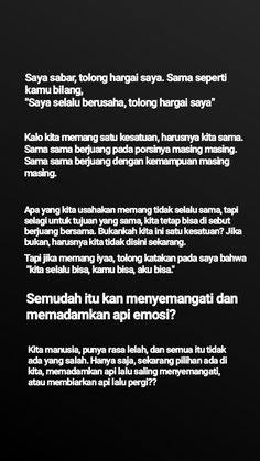 Quotes Rindu, Text Quotes, Mood Quotes, People Quotes, Tumblr Quotes, Life Quotes, Reminder Quotes, Self Reminder, Cinta Quotes